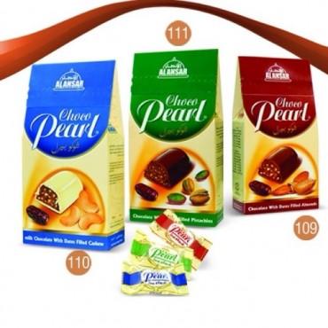 Mix Chocoperal pyramidal with Cashew , Almond, Pistacio -  200gm - 010909