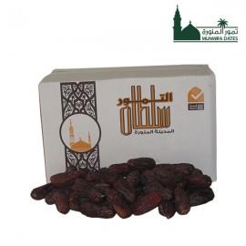 Anbrat almadinah dates - bulk - carton - 6 kg - 010206
