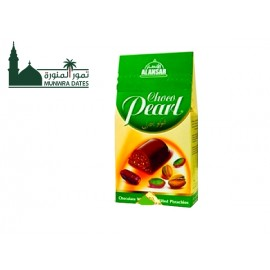 Chocopearl stuffed with dates and pistachios-  200 gm - 010904