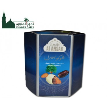 Dates With Almond $  Milk Chocolate - 250gm -010908