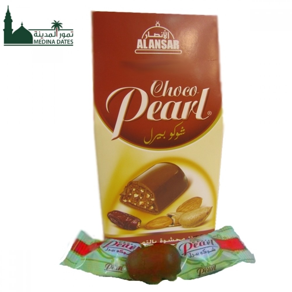 Chocopearl With Dates Filled Almound-  200 gm - 010903